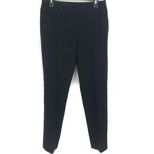 Hugo Boss Tarera Wool Blend Mid Rise Trouser Black